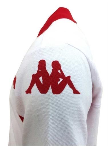Kappa Erkek L Model Polo T-Shirt  Beyaz